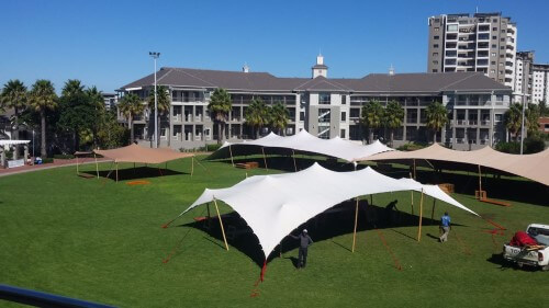Corporate Events Stretch Tent