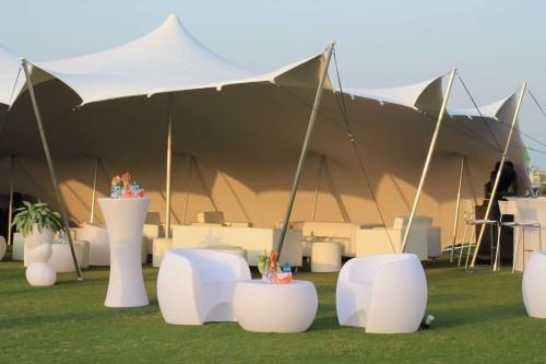 Stretch Tent Hire for Birthdays