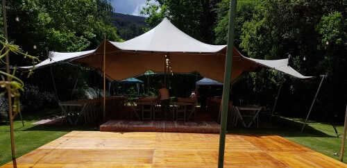 Stretch Tent for Special Occasions