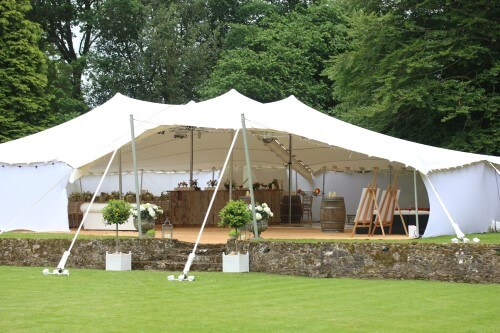 Stretch Tent for Weddings